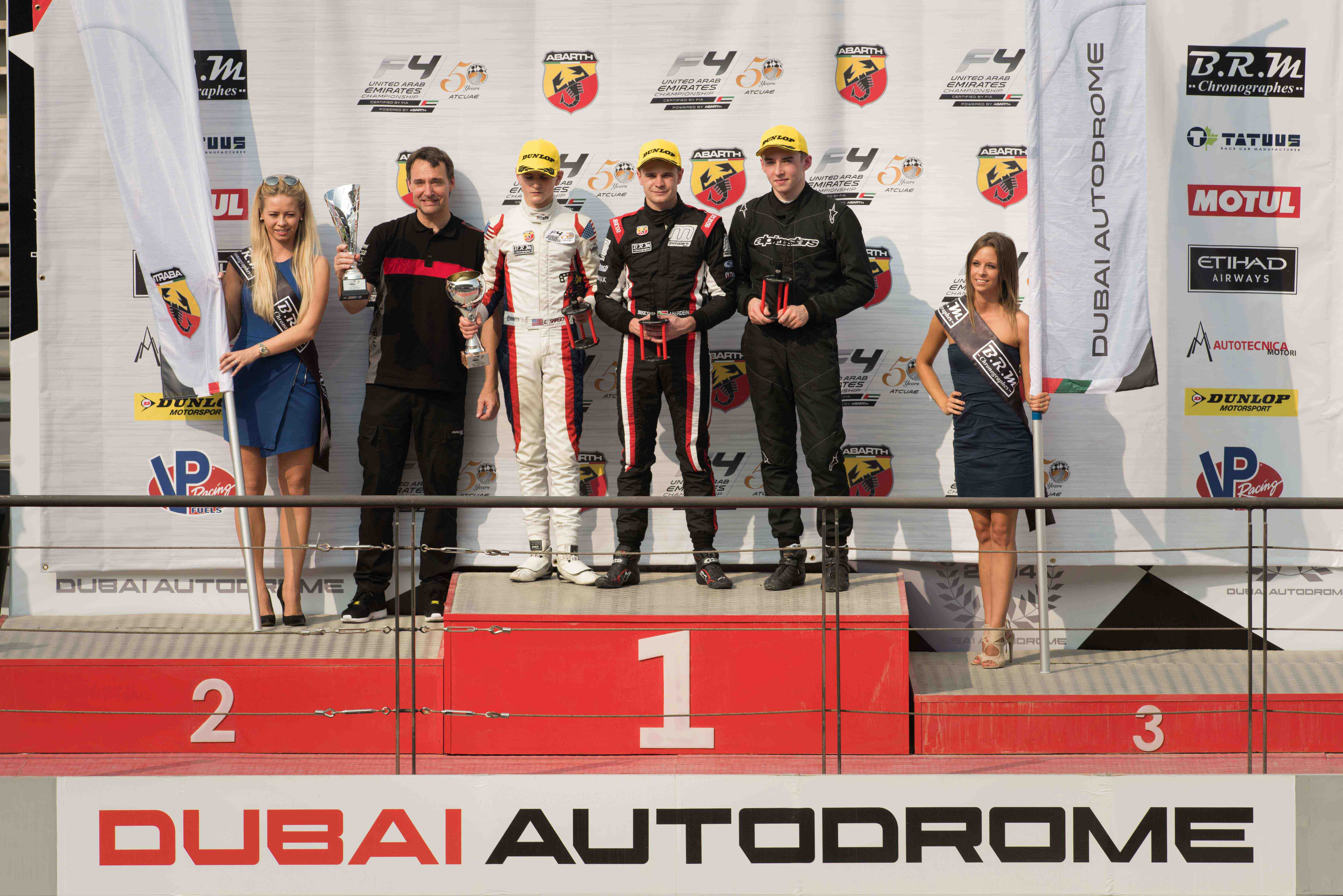 ABERDEIN TAKES EARLY F4UAE CHAMPIONSHIP LEAD WHILE UAE TEAMS CLAIM PODIUM RESULTS