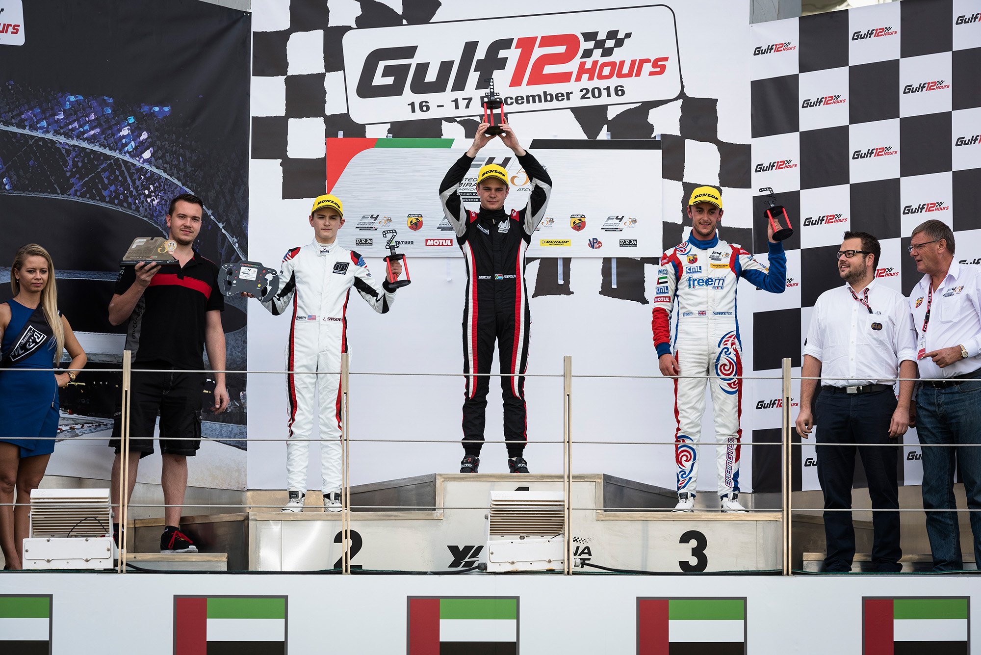 TEAM MOTOPARK CLAIMS VICTORY AT GULF 12 HOURS F4 EVENT WHILE UAE TEAMS PUSH FRONTRUNNERS