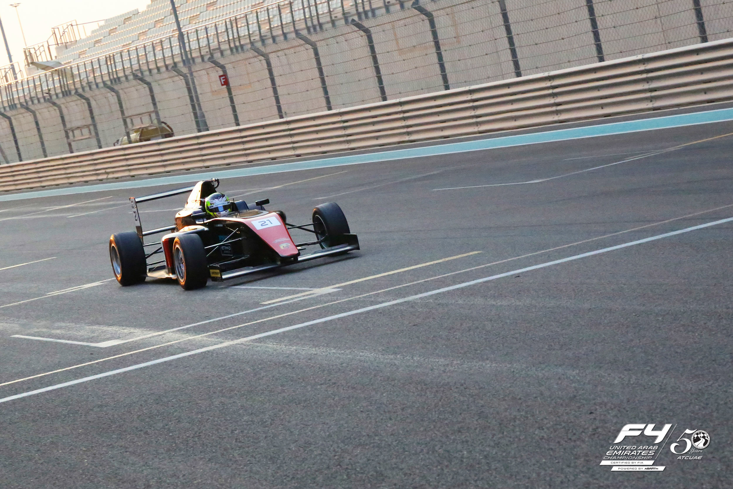 YAS MARINA CIRCUIT TO HOST INAUGURAL F4UAE EVENT THIS WEEKEND