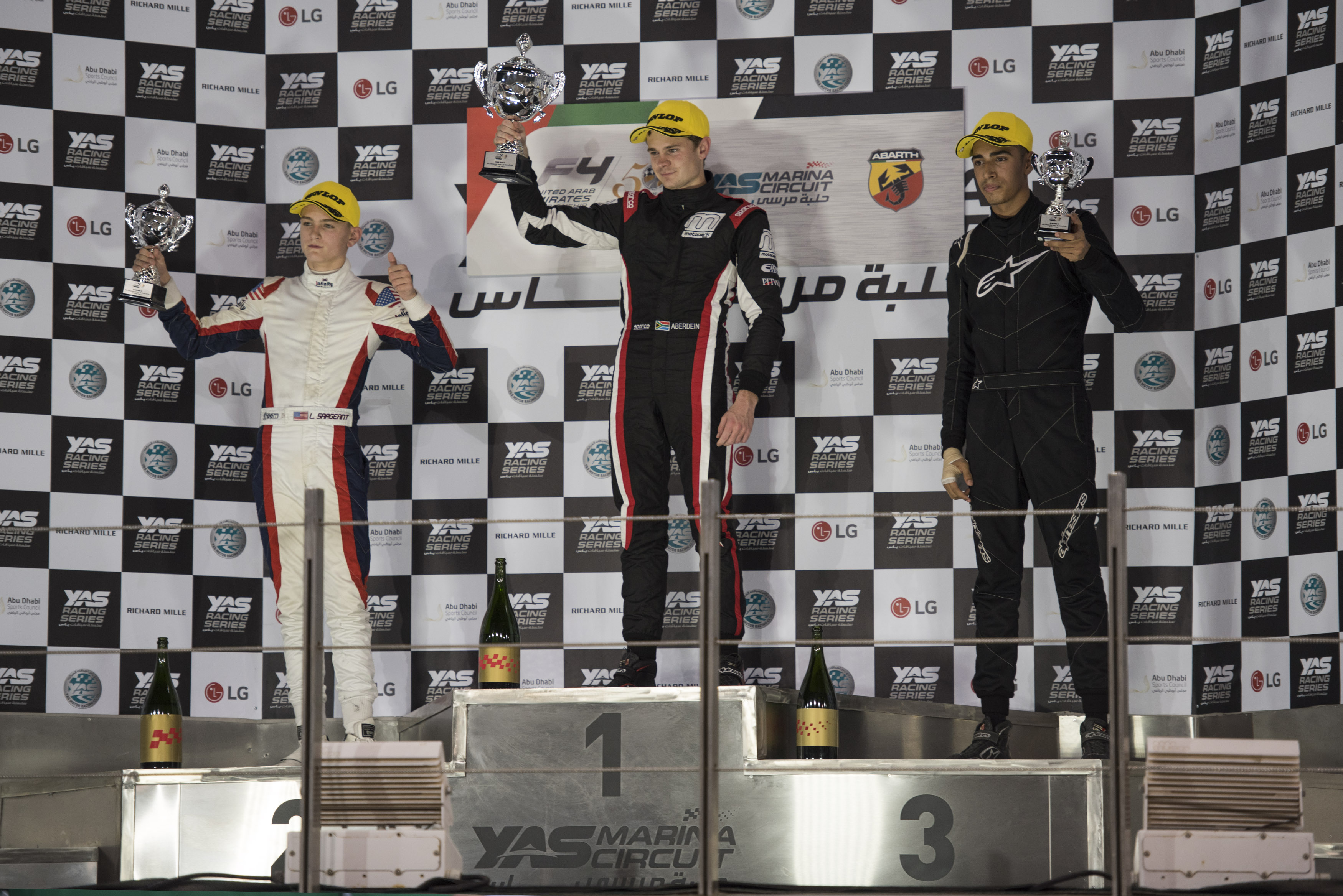 F4UAE TrophyEvent Oct16 Podium