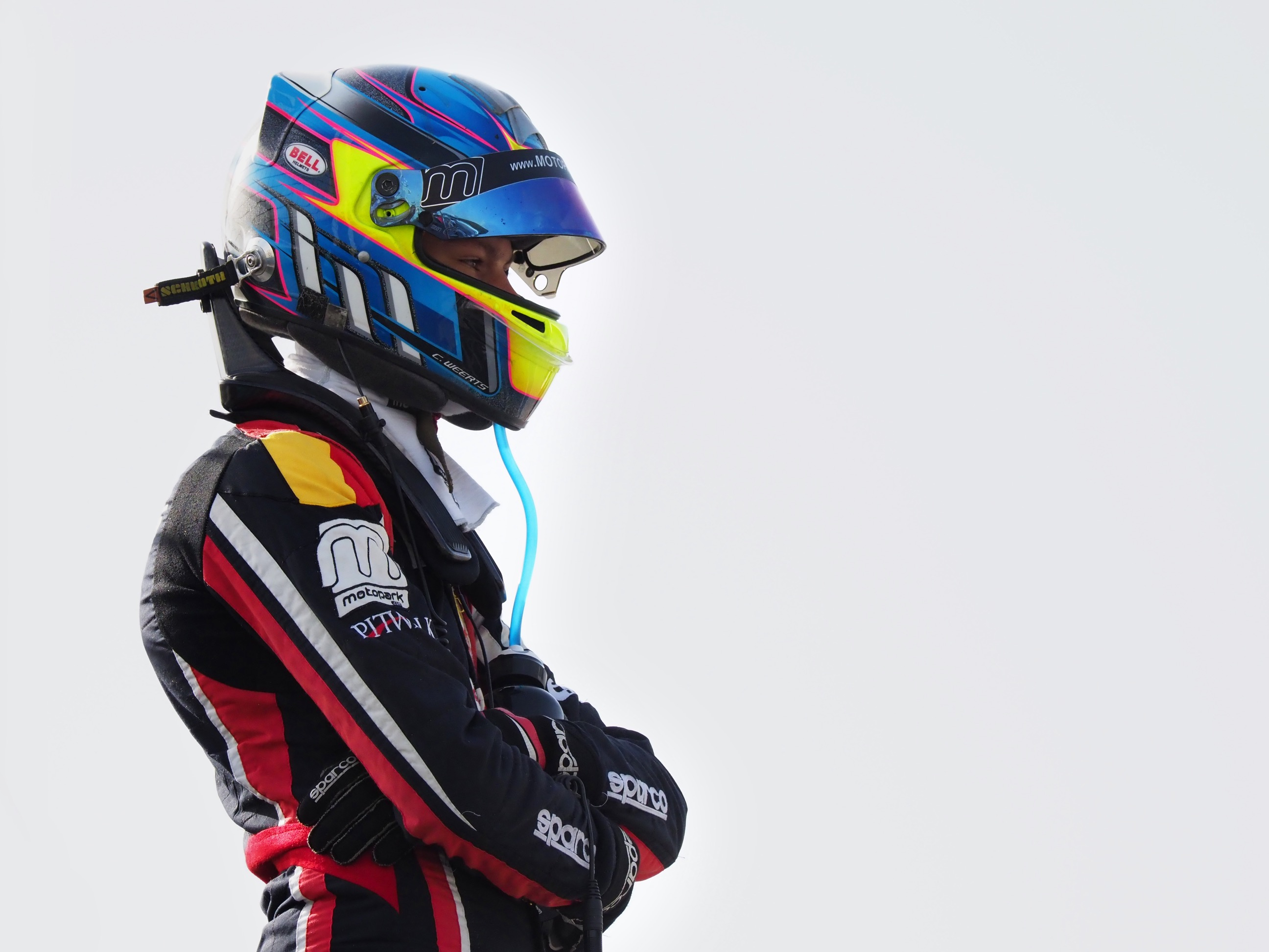 F4UAE Press Round3 Championship Leader Charles Weerts