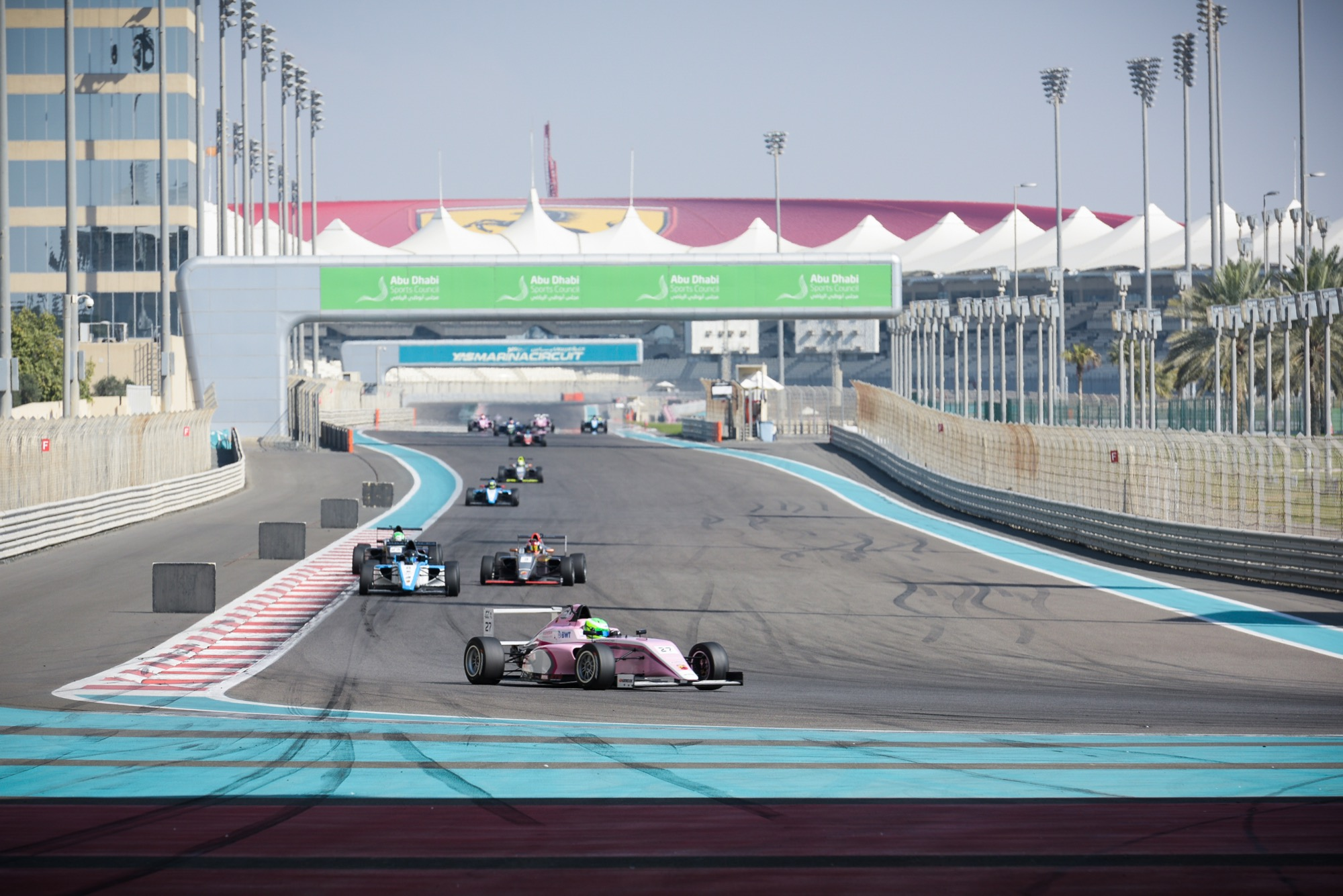 SCHUMACHER DOMINATES F4UAE IN ABU DHABI WHILE COLLET TAKES MAIDEN VICTORY