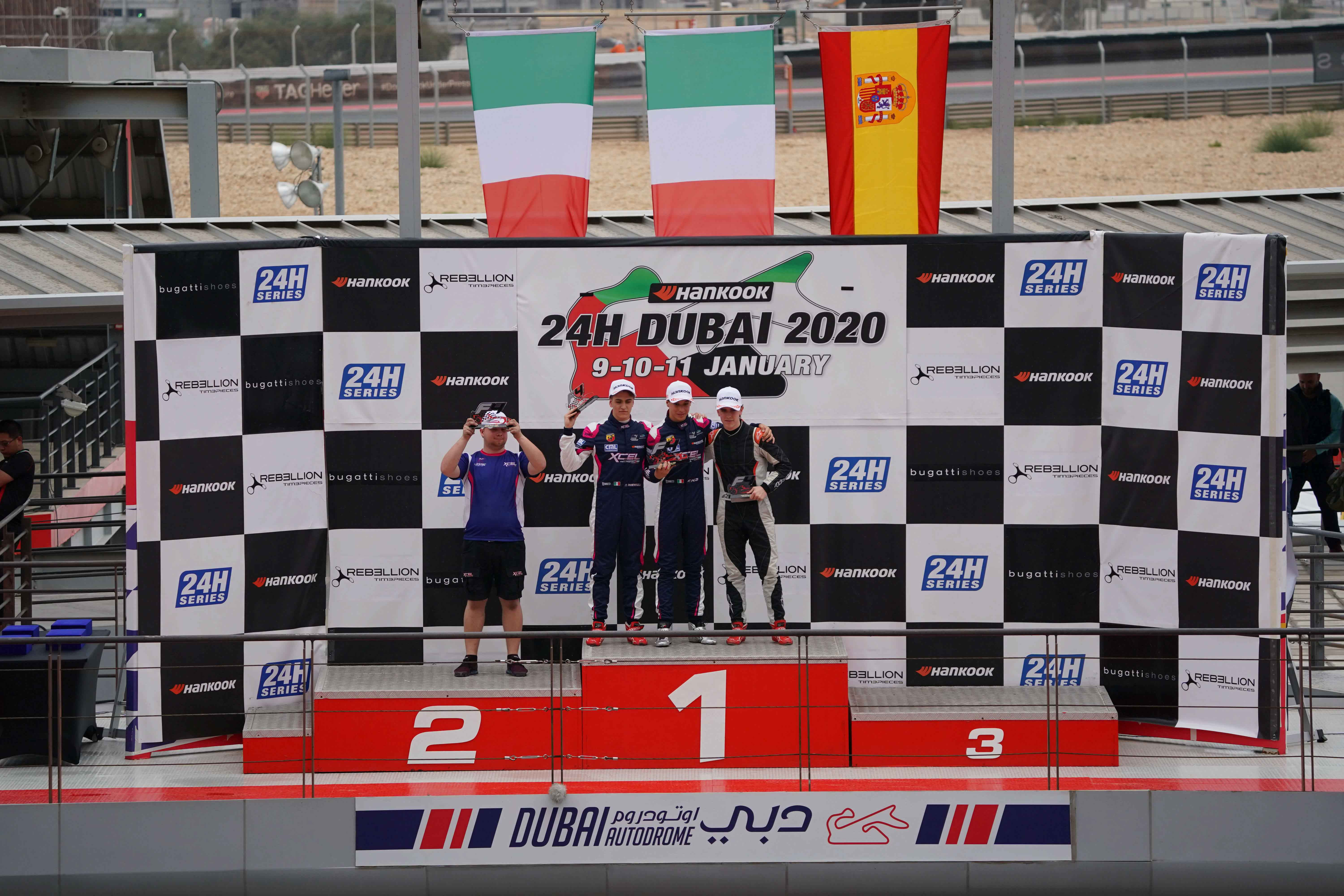 PIZZI OUTPERFORMS AT 2020 F4UAE CHAMPIONSHIP OPENER IN DUBAI