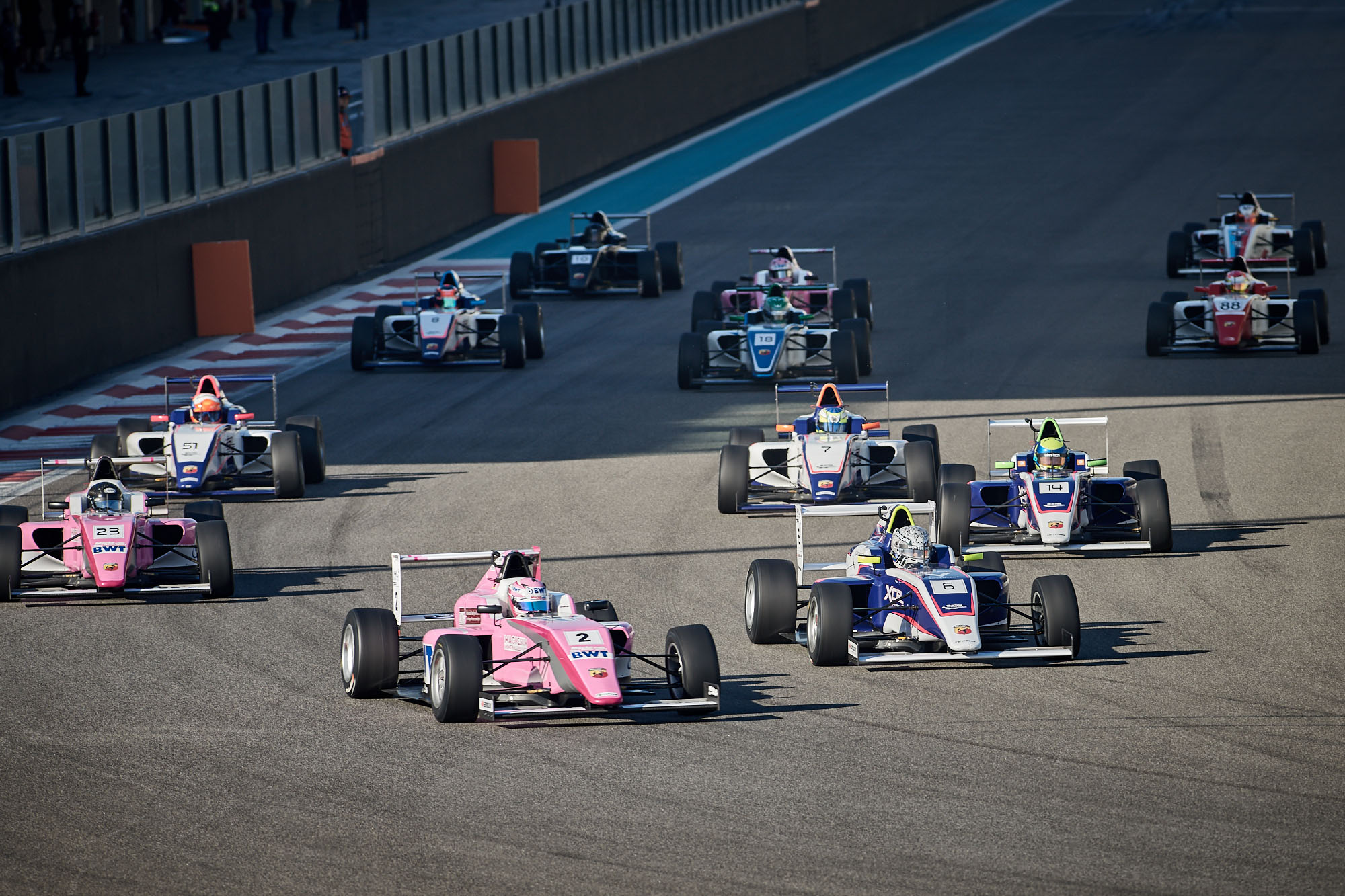 BWT MÜCKE MOTORSPORT DUO BECOME FIRST-TIME WINNERS AT ROUND 2 OF F4UAE IN ABU DHABI