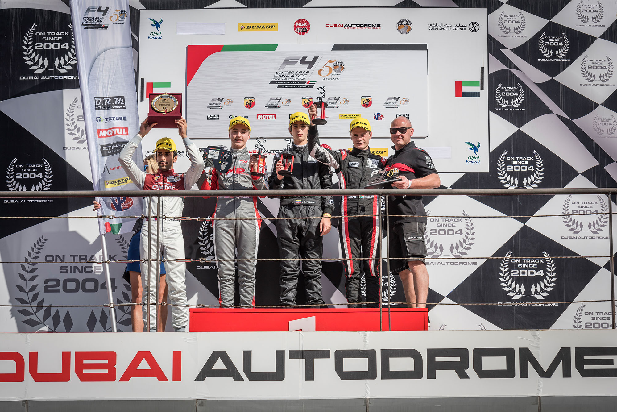 WAHBEH BREAKS ABERDEIN'S F4UAE WINNING STREAK FOR TEAM MOTOPARK