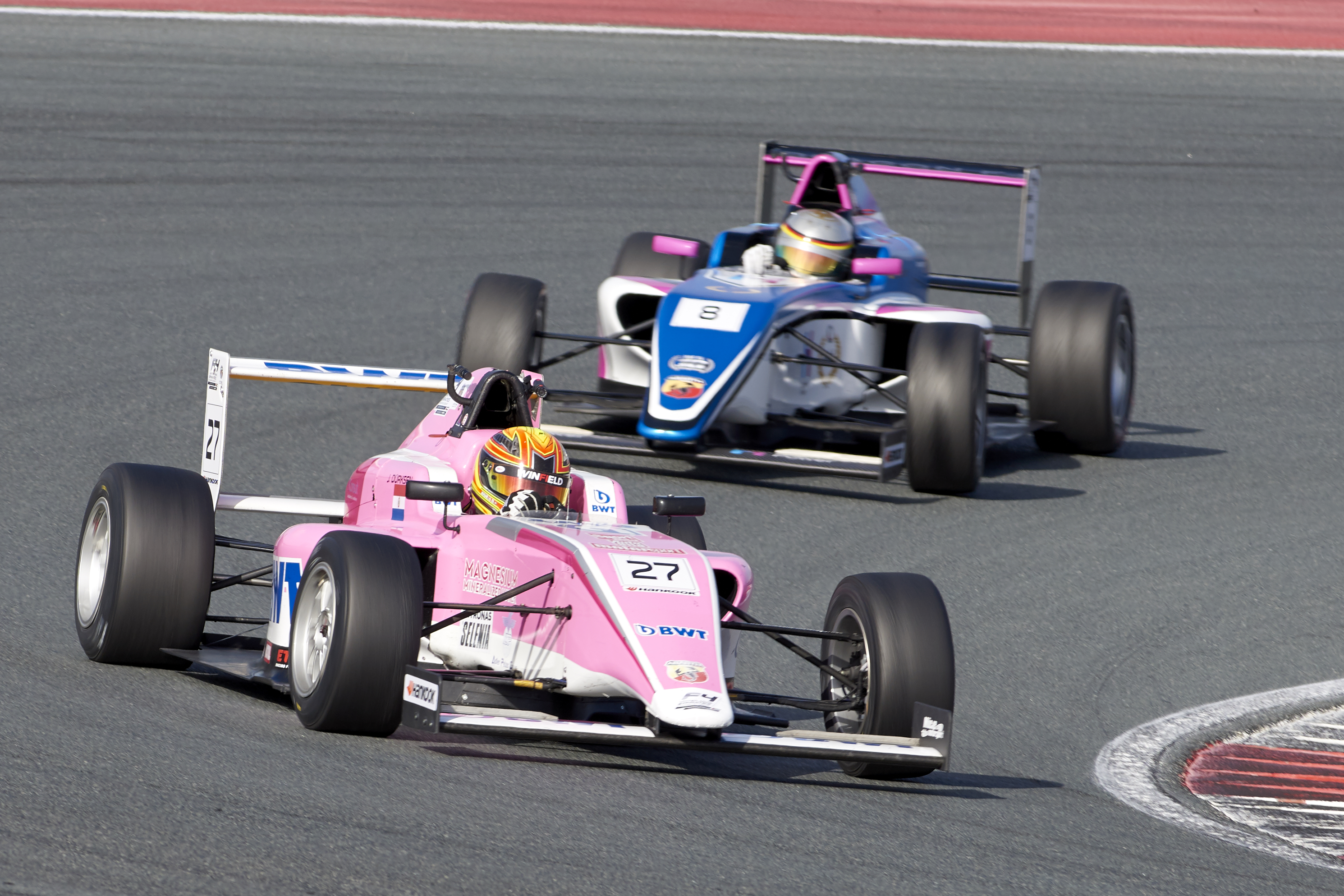 ROUND 1 WINNERS AT YAS MARINA