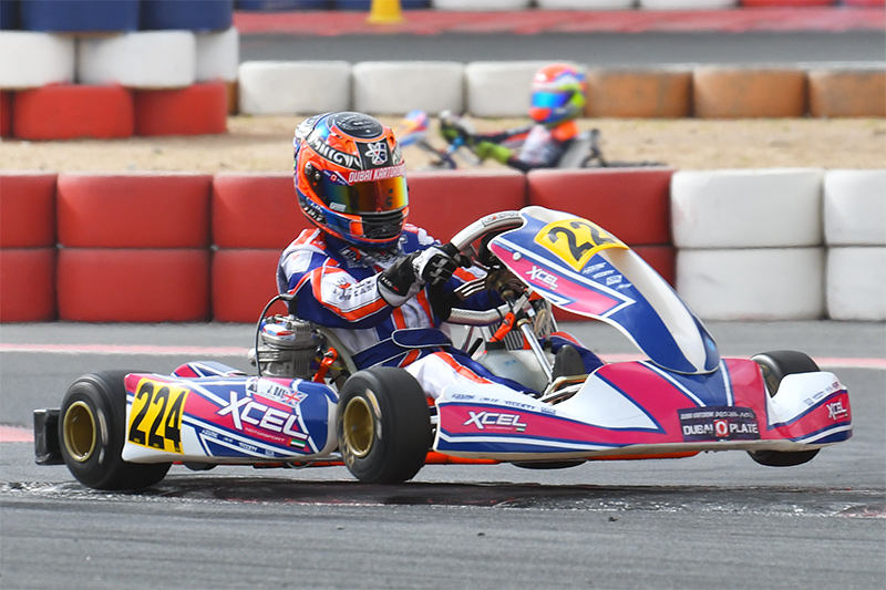 TEAM NEWS: FUTURE F4UAE RACER TO BECOME FACTORY DRIVER FOR CHARLES LECLERC KART CHASSIS