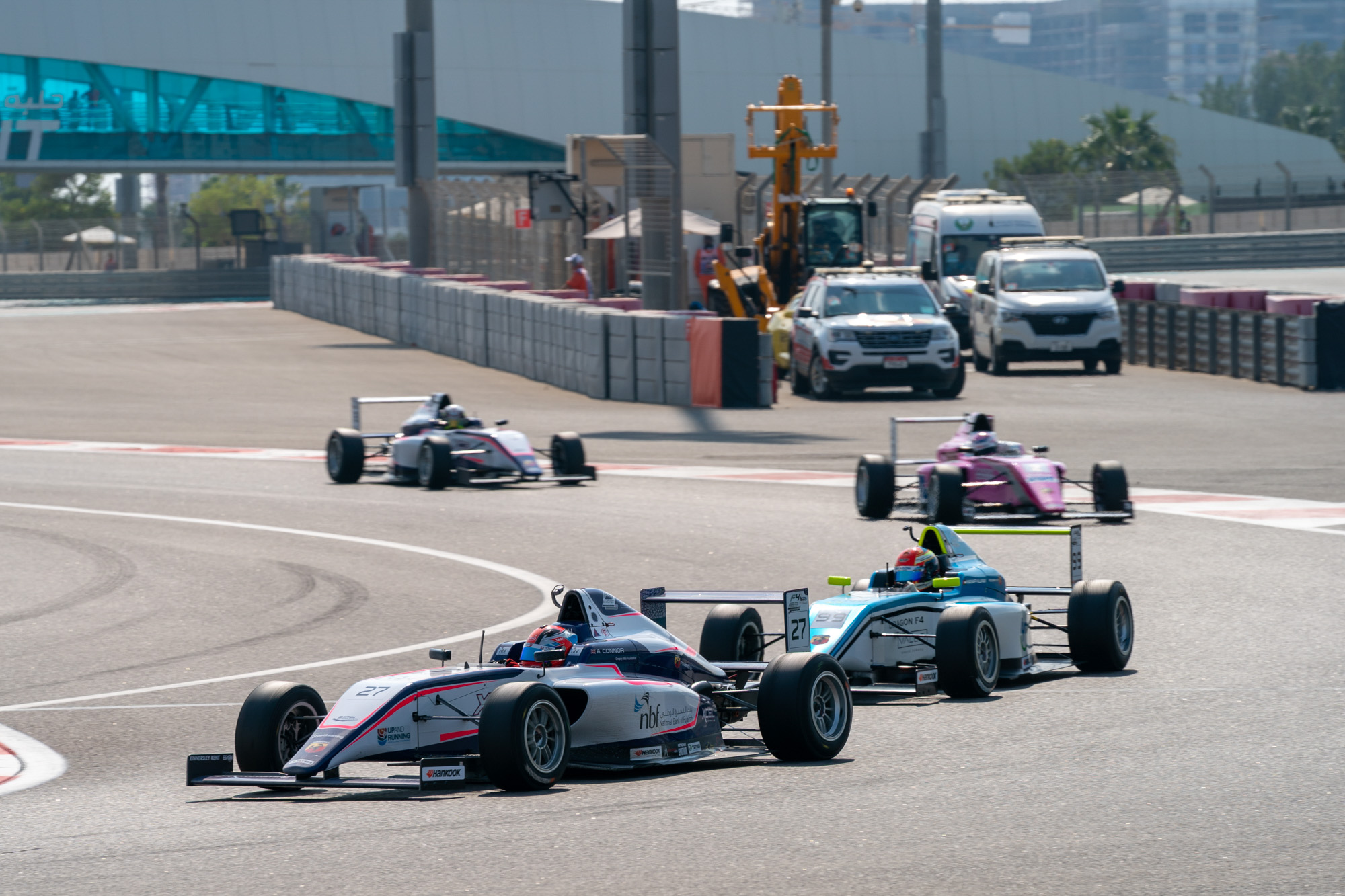F4UAE Trophy Round Race 2 Credit David Benson