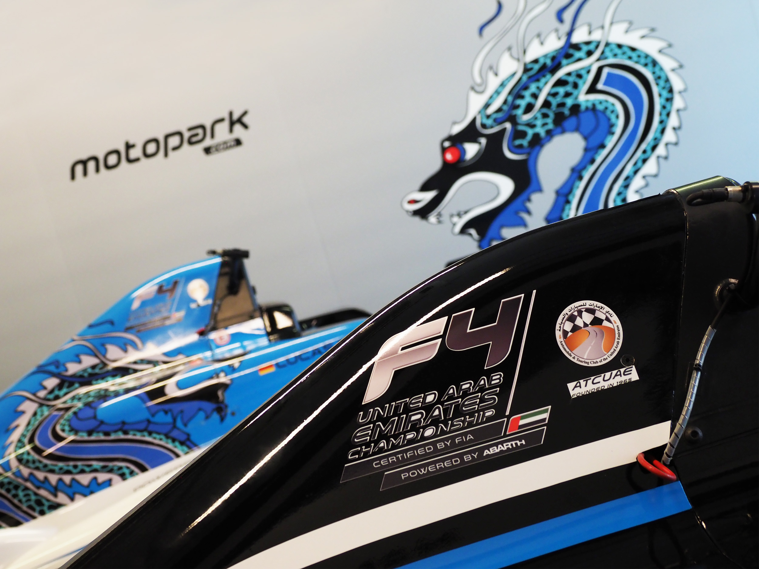[TEAM NEWS] DRAGON F4 JOINS FORCES WITH TEAM MOTOPARK FOR F4UAE ASSAULT