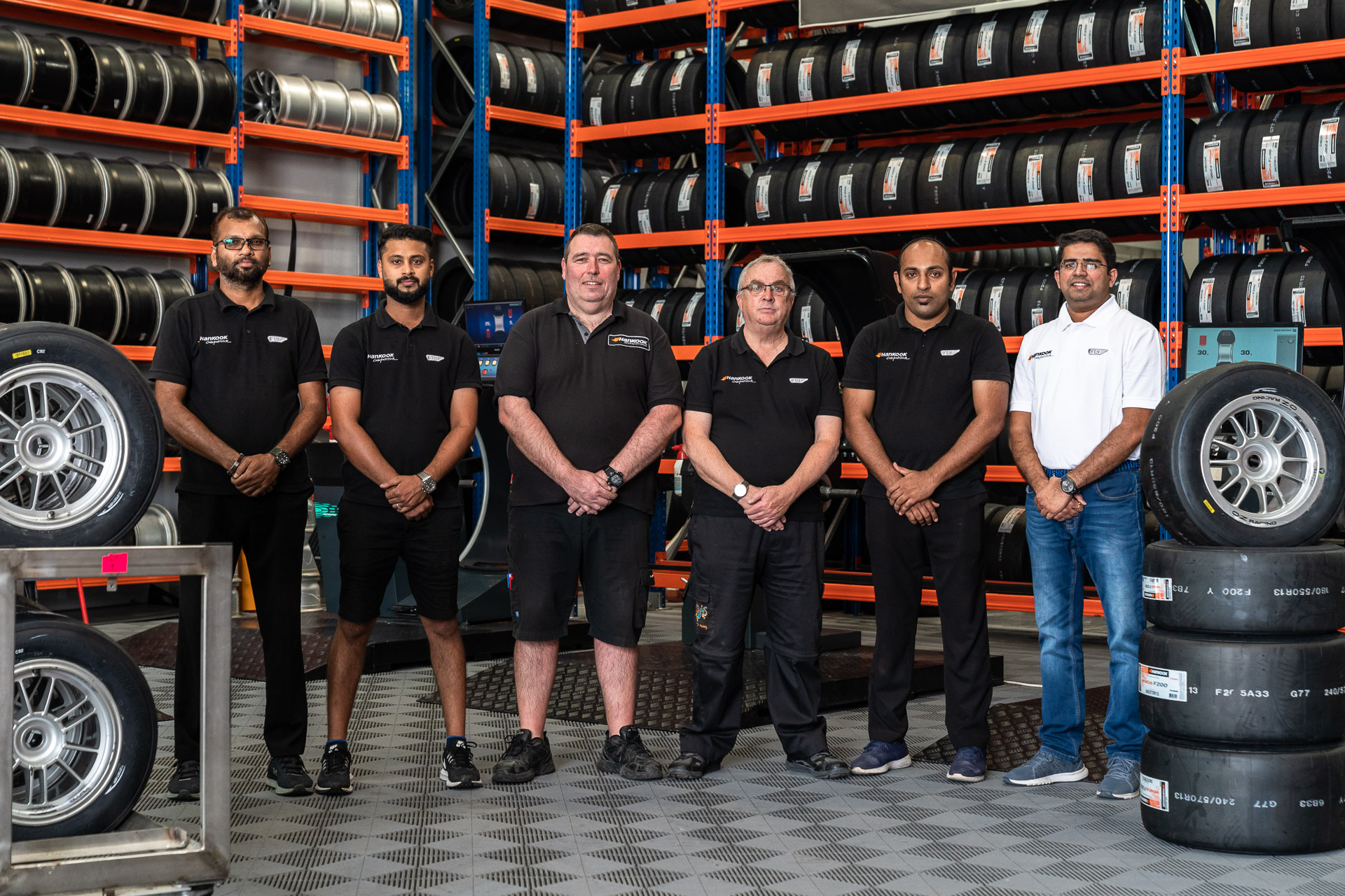 Hankook team for Dragon Racing 15