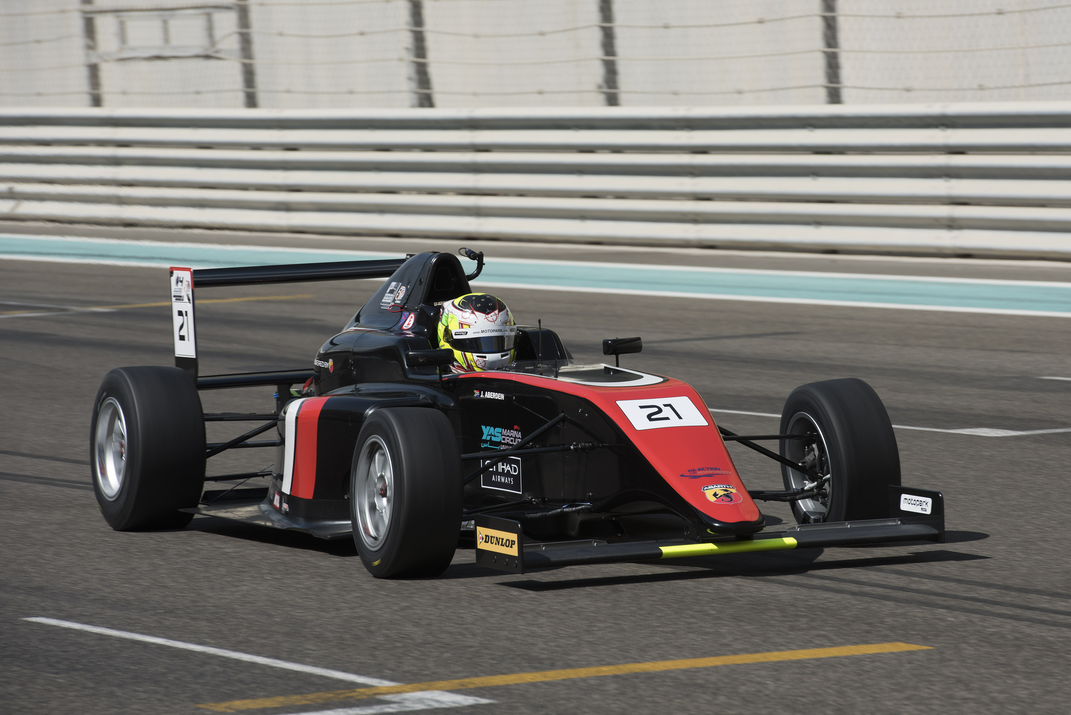 TEAM MOTOPARK CLAIMS FIRST HONOURS AT INAUGURAL F4UAE TROPHY EVENT IN ABU DHABI